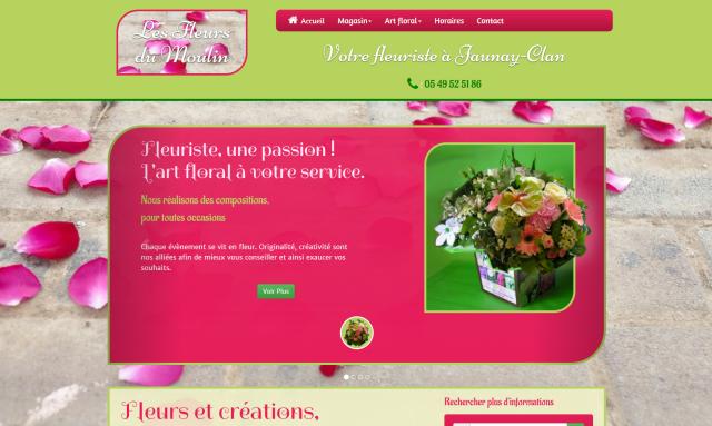 Fleuriste de Jaunay Clan Poitiers vienne 86
